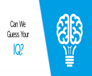 Can we Guess your IQ?