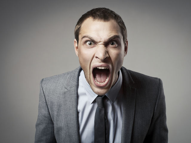 Do you feel as though it is sometimes difficult for you to control your anger?