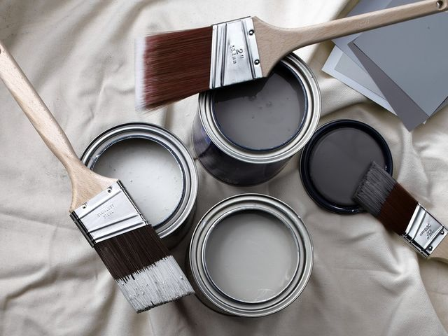 What's a good shade of gray to use in a home with conservative furnishings?