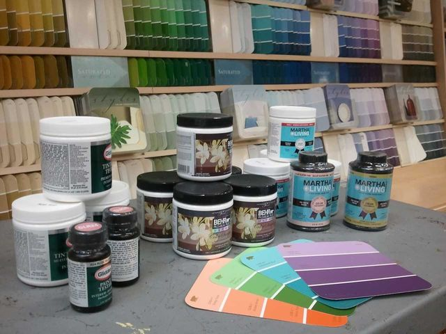 Why do paint stores sell sample sizes of paint colors?
