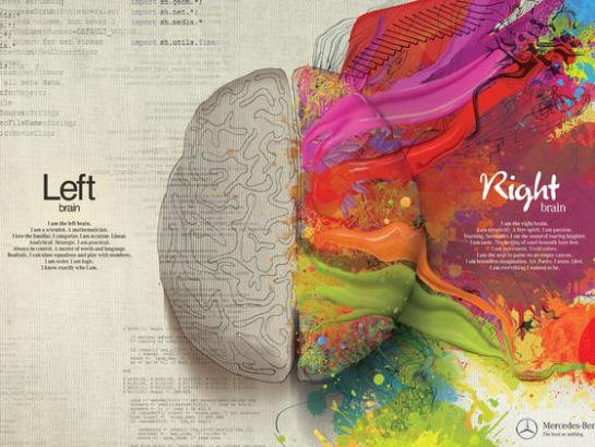 What is your Dominant Brain, your Creative or Logical side?