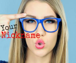 What's your new Crazy Nickname?