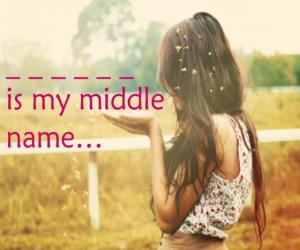 What Should Your Middle Name Be?