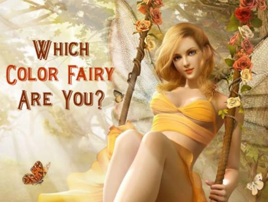 Which Color Fairy are you?