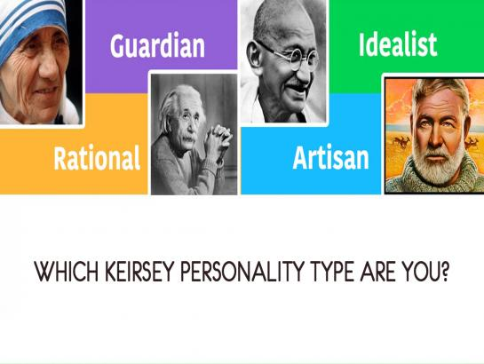 Which Keirsey Personality type are you?
